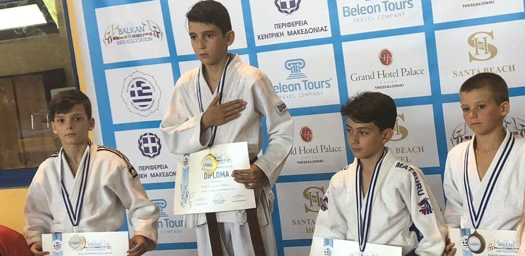Judo: Trei medalii pentru sportivii de la CSM Pitești la Balcaniada U13