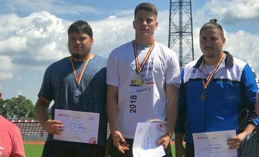 Constantin Zanfir, campion național la disc