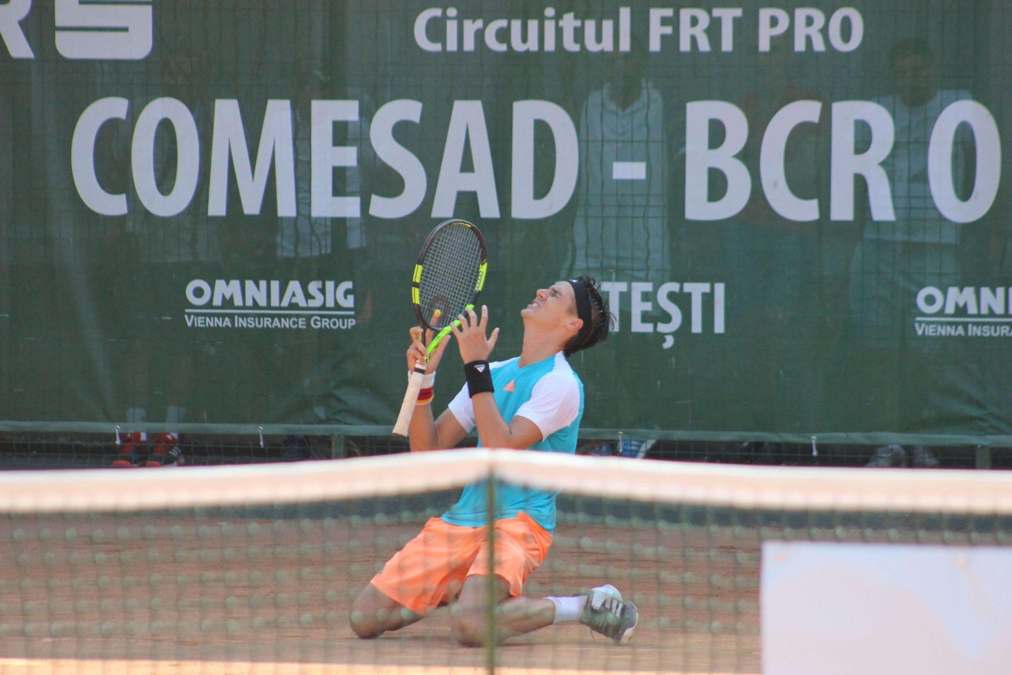 """Argentinianul Federico Coria a câștigat turneul """"Comesad BCR Open"""""""