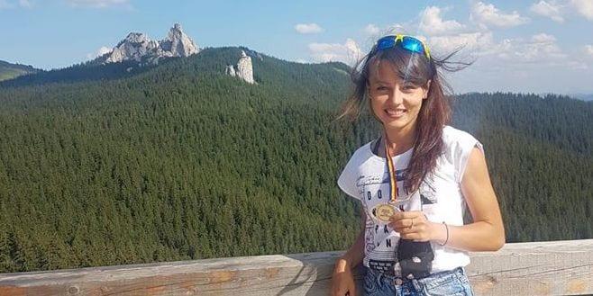 Denisa Dragomir, campioană națională la alergare montană