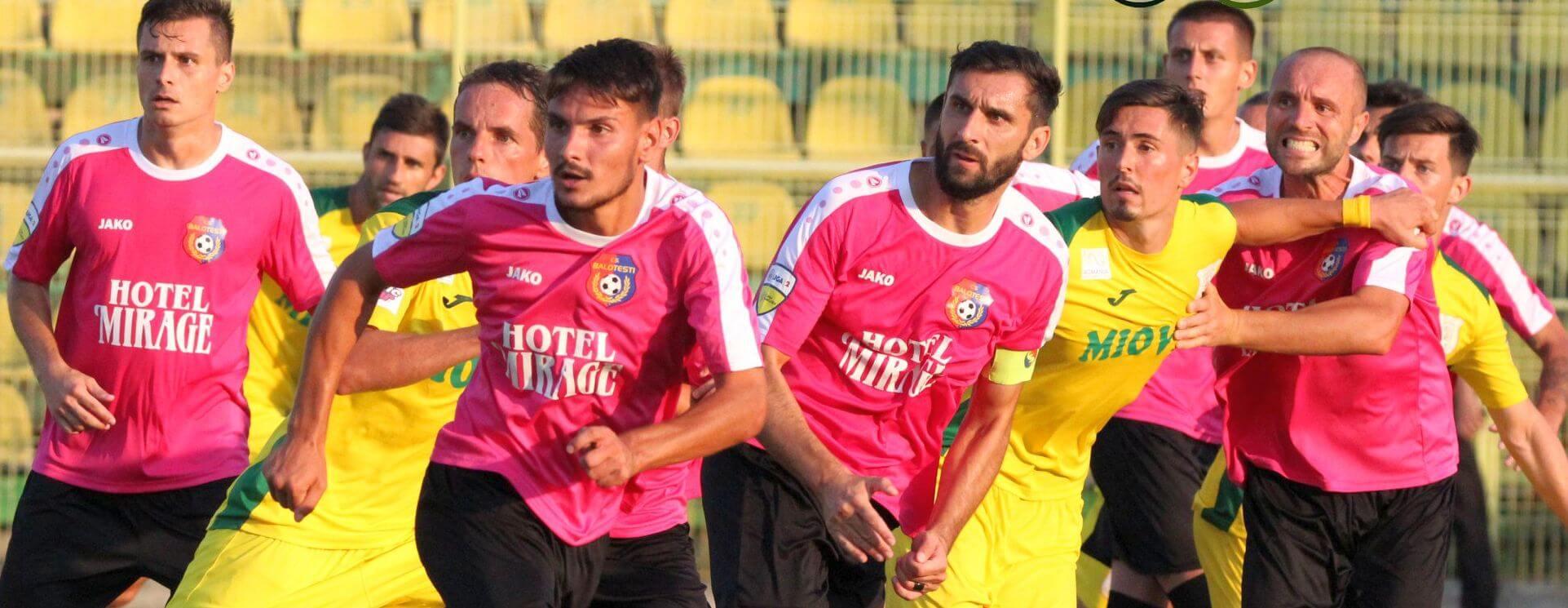 FC Argeș și CS Mioveni, victorii în runda a treia