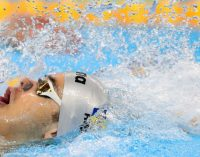 Robert Glință, vicecampion european la 50 m spate