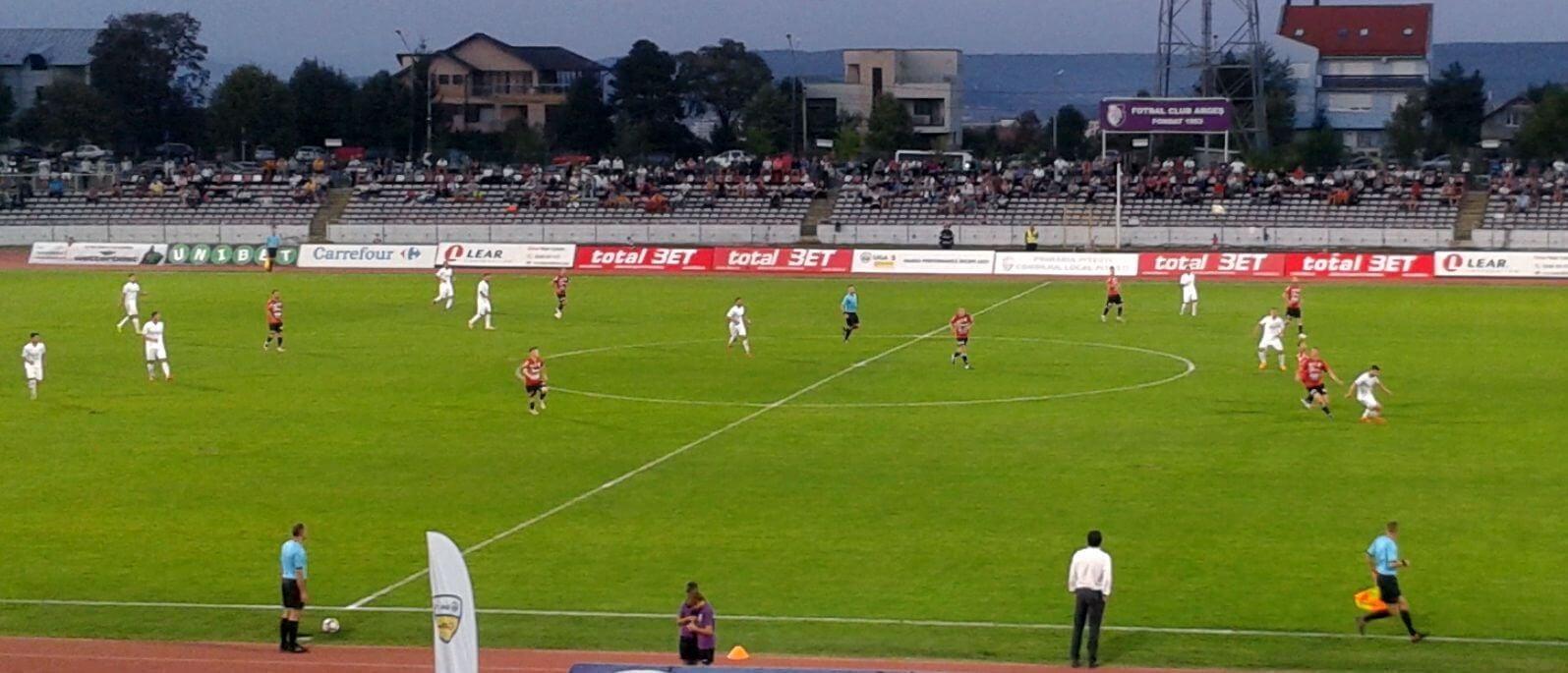 FC Argeș – Universitatea Cluj 2-1
