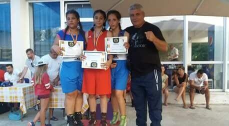 CSM Pitești a avut o evoluție reușită la naționalul feminin de box