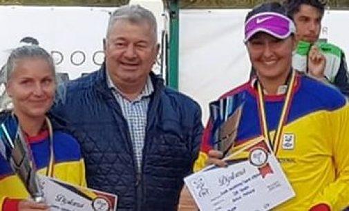 Ilona Ghioroaie, campionă națională la simplu și dublu