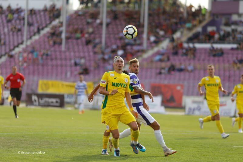 Poli ASU Timișoara – CS Mioveni 1-0