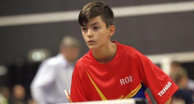 CE de tenis de masă pentru minicadeți, o competiție cu învățăminte pentru Sebastian Pribeagu