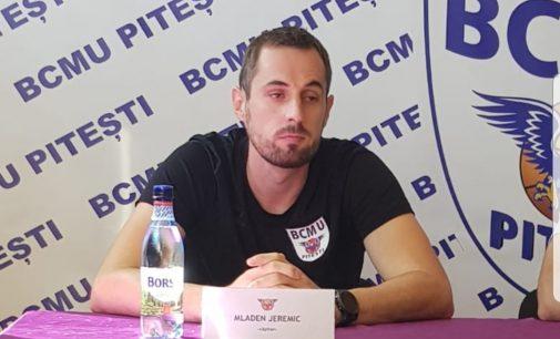 """Mladen Jeremic: """"Trebuie să muncim din greu"""""""
