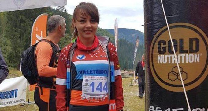 Denisa Dragomir, locul 1 la Iezer Păpușa Trail Race