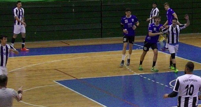 CSU Pitești joacă o nouă partidă pe teren propriu, în divizia A la handbal masculin