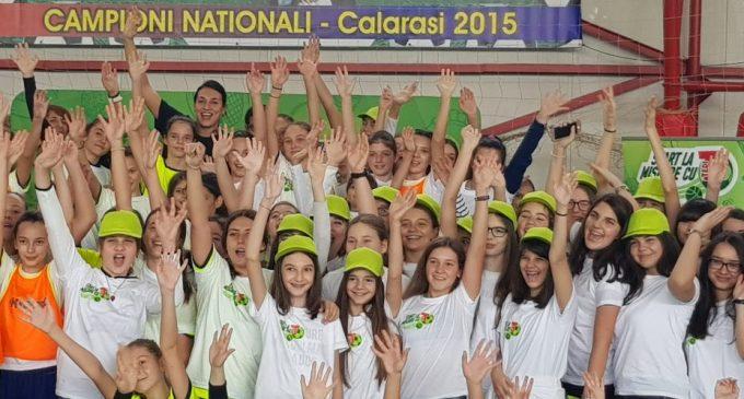 Cristina Neagu a dat startul la mișcare, la Școala nr. 4 Traian