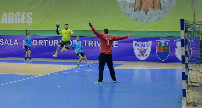 CSU Pitești – CSM Ploiești 40-32, în divizia A la handbal masculin