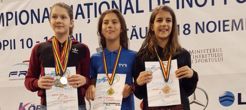 Emilia Andra Surugiu, locul al doilea în clasamentul individual după naționalele de poliatlon de la Bacău
