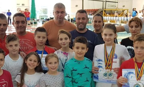 CSM Pitești, 12 medalii la o competiție de natație desfășurată la Izvorani