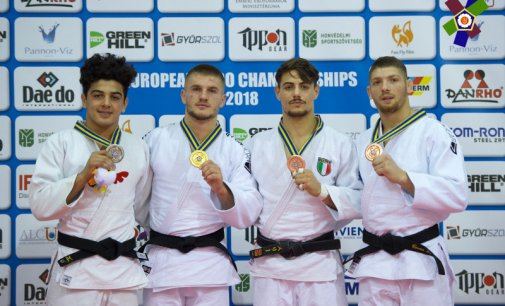 Marcel Cercea, bronz la CE de judo Under 23