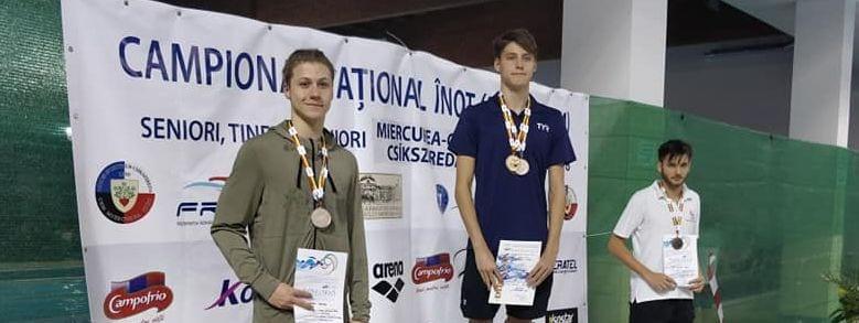 Încă o zi reușită pentru înotătorii de la CSM Pitești