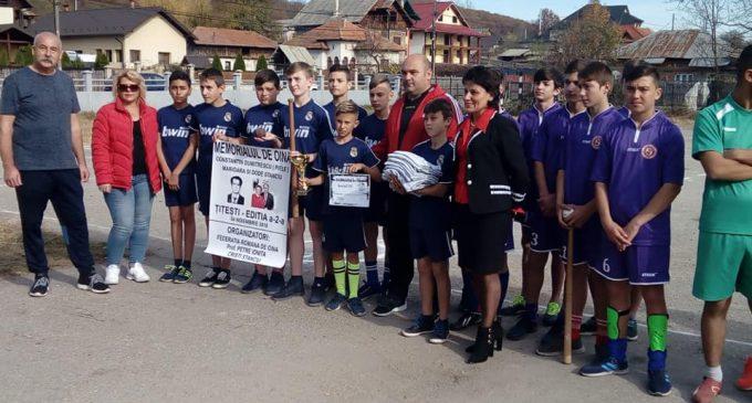 Oină | La Țițești a avut loc Memorialul Constantin Dumitrescu
