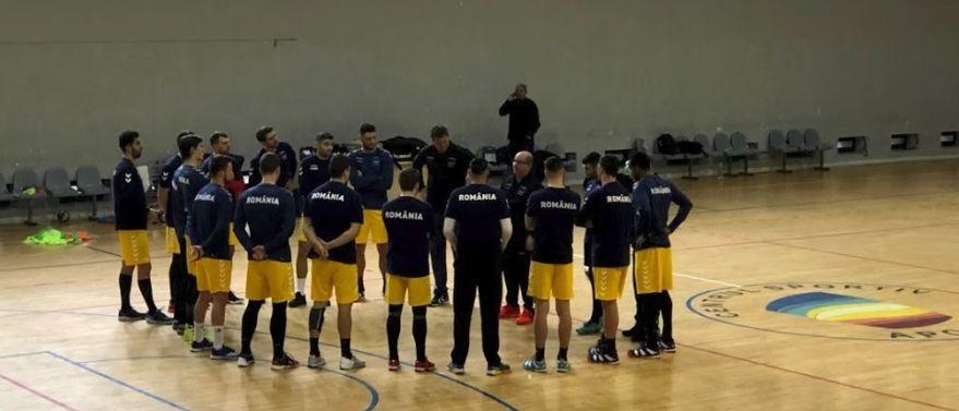 Naționala masculină de handbal a început anul la muncă!