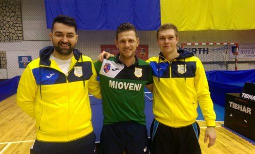 CS Mioveni a obținut două succese cu 5-0 în returul CN de tenis de masă