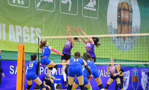 FC Argeș întâlnește Lugojul în divizia A2 Vest la volei feminin