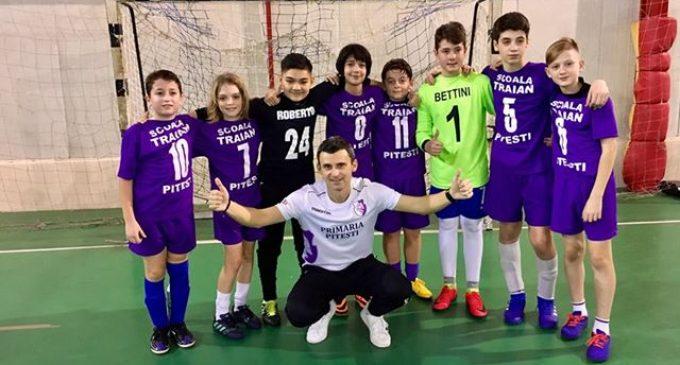 Școala Gimnazială Traian din Pitești s-a impus la faza județeană a Cupei Tymbark Junior