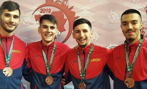 Dobrică Mariusan, bronz la Balcaniada de atletism în proba de 4×400 m