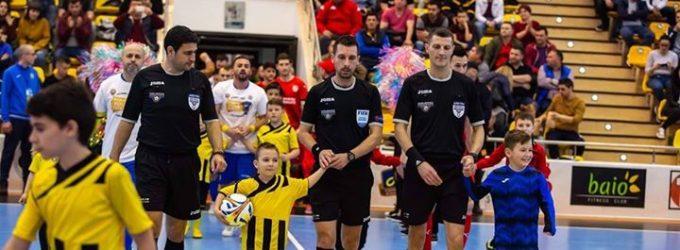 Oficiali pitesteni la turneul final al Cupei României la futsal