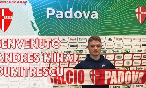 Andres Dumitrescu s-a transferat în Serie B, la Padova!