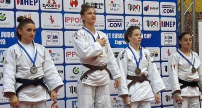 Florentina Ivănescu, aur la Cupa Europeană de judo