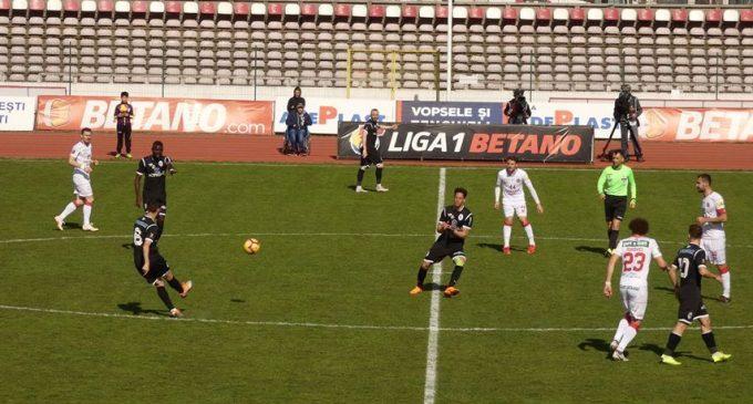 FC Hermannstadt – Gaz Metan Mediaş 0-2, într-o partidă disputată astăzi la Pitești