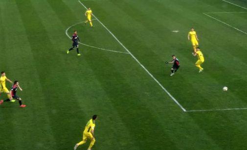 Liga 2   CS Mioveni – Chindia Târgoviște 1-4, în prima partidă din runda cu numărul 25