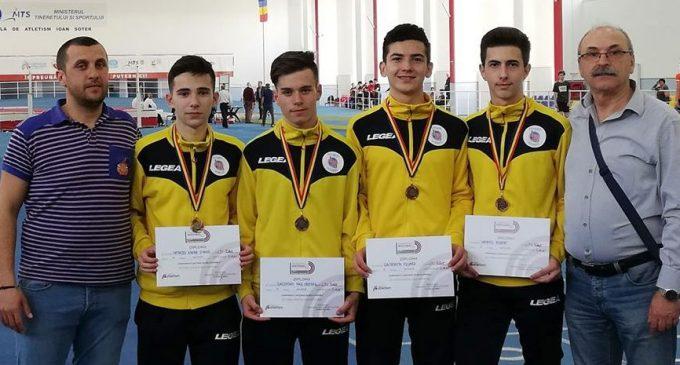 LPS Viitorul Pitești, prestație reușită la CN de atletism rezervat juniorilor II