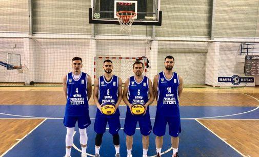BCMU FC Argeș a jucat finala turneului semifinal al Cupei României de baschet 3×3