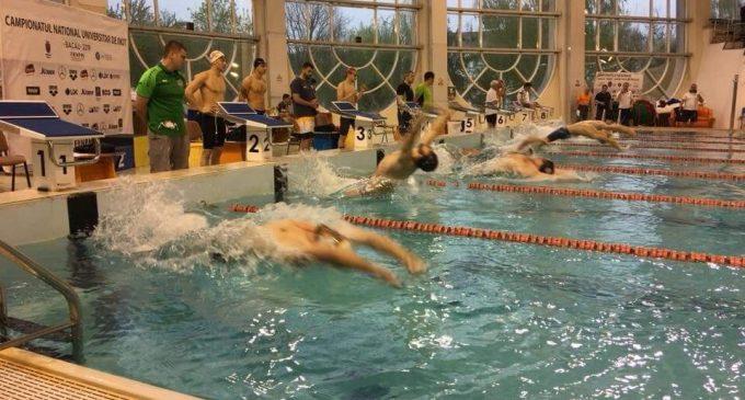 Șase medalii pentru piteșteni la Campionatul Universitar de înot de la Bacău
