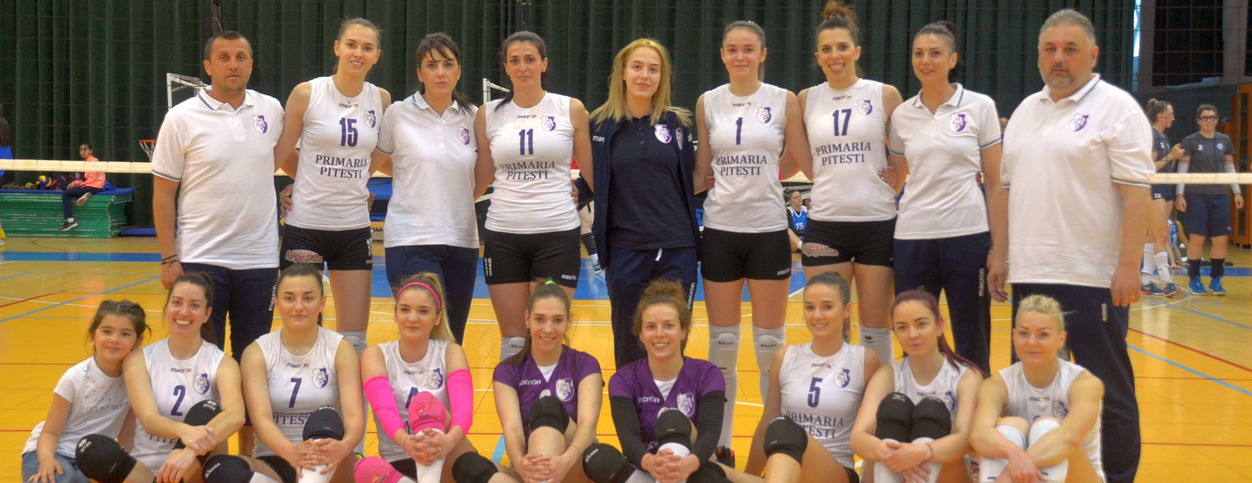 FC Argeș revine în divizia A1 la volei feminin