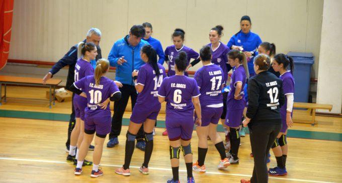 Handbalistele de la FC Argeș, victorie în ultimul meci din campionat