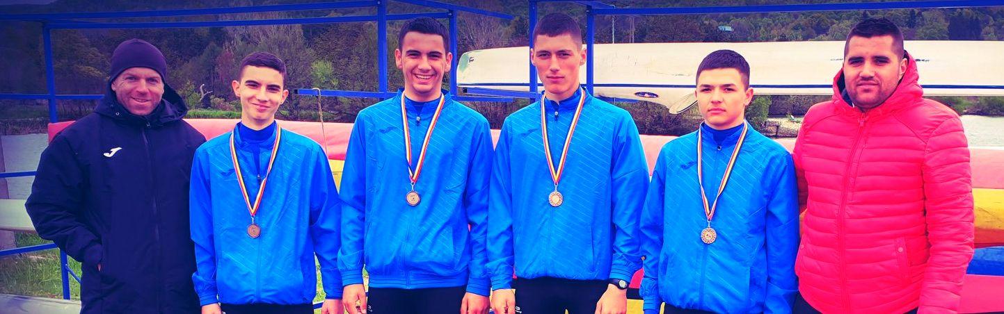 Kaiac-canoe | Sportivii de la CSM Pitești au obținut 8 medalii la CN de primăvară de la Bascov-Budeasa