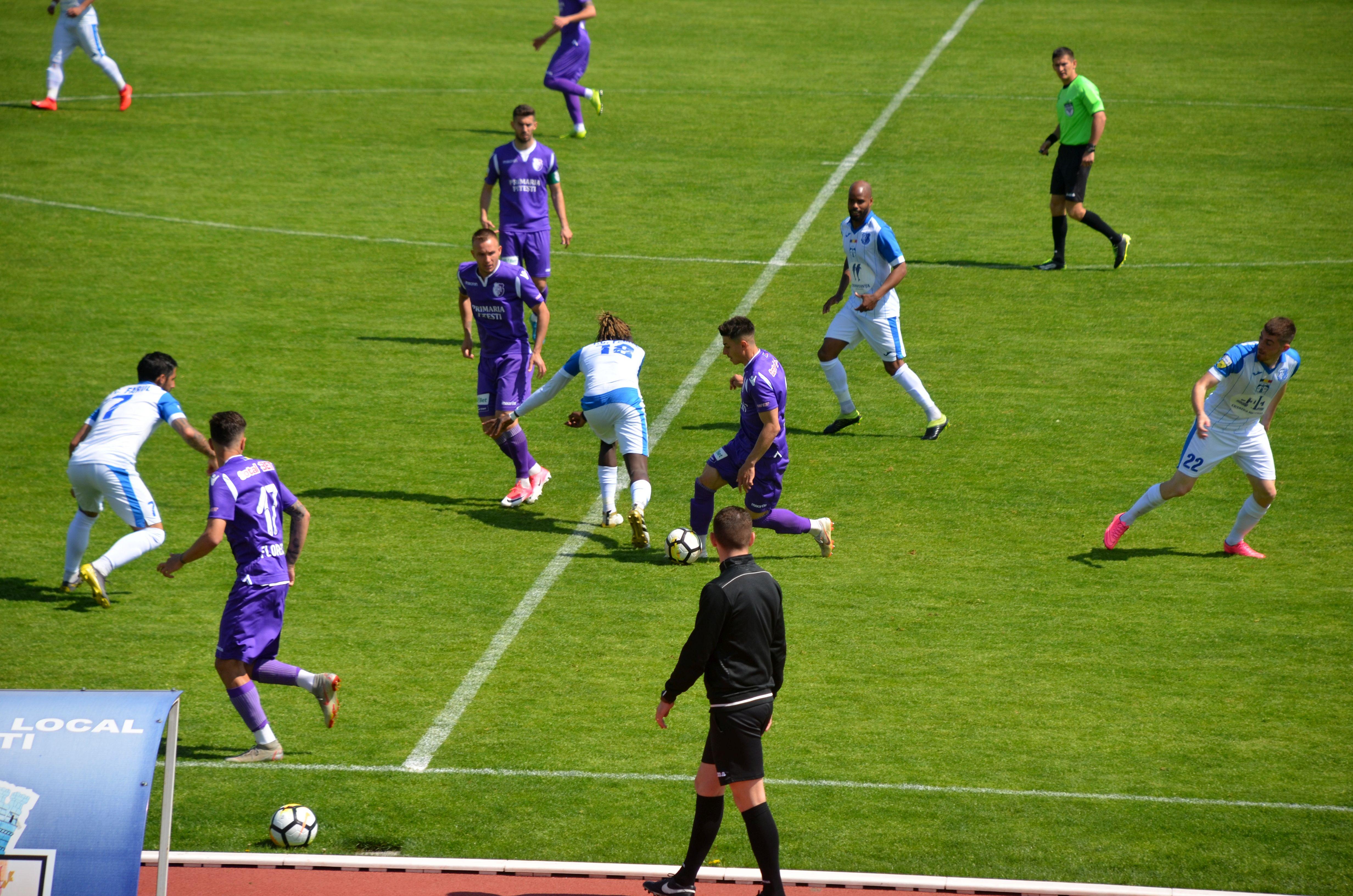 Farul a învins FC Argeş, scor 1-0, în Liga II