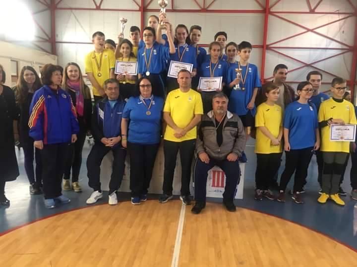Școala Matei Basarab din Pitești, locul secund la Olimpiada Gimnaziilor la tenis de masă