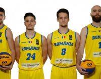 Radu Paliciuc, insucces cu echipa națională de baschet 3×3 a României
