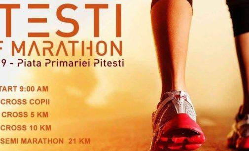 Peste 350 de concurenți înscriși la Pitești Half Marathon