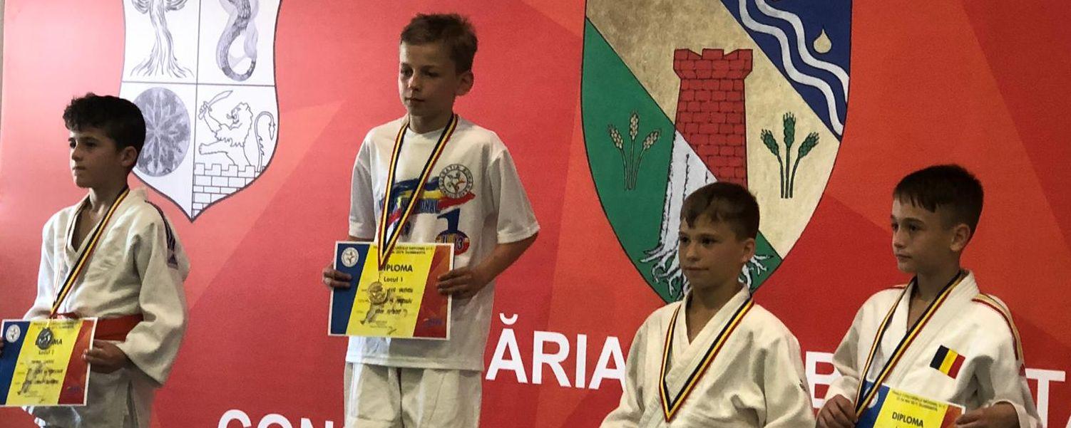 CSM Pitești, parcurs reușit la naționalul de judo de la Dumbrăvița(Timiș)