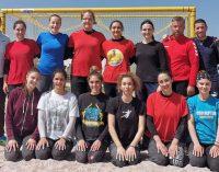 5 jucătoare la FC Argeș au participat la o selecție pentru lotul național de handbal pe plajă