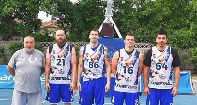 CSU Pitești, semifinalistă a turneului Sibiu Streetball la baschet 3×3