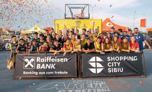 CSU Pitești, locul secund la Raiffeisen Bank Romania Sibiu Streetball
