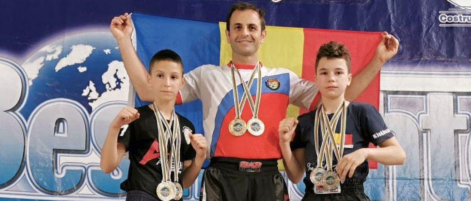 Bestfighter Kickboxing World Cup 2019, o competiție reușită pentru sportivii de la Aleph Pitești