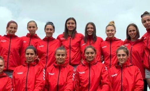 Stanca și Ciolponea, turneu în Ungaria cu naționala de handbal pe plajă
