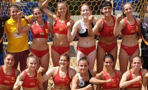 Cătălina Andreea Ciolponea( FC Argeș), convocată la naționala de handbal pe plajă a României