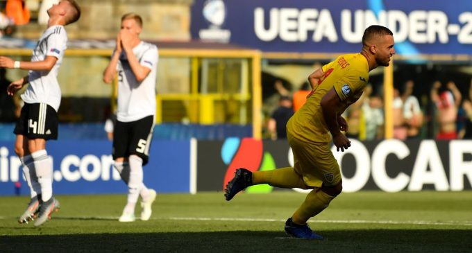 Romania – Germania 2-4, în semifinalele CE de tineret Under 21