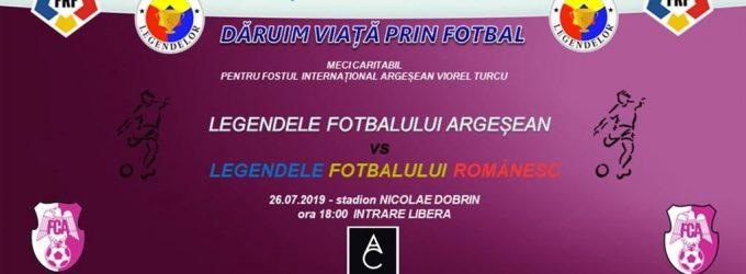Legendele fotbalului românesc vin la Pitești, pentru un meci caritabil dedicat lui Viorel Turcu